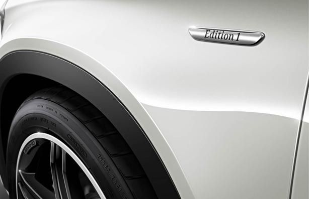кроссовер Mercedes 2014