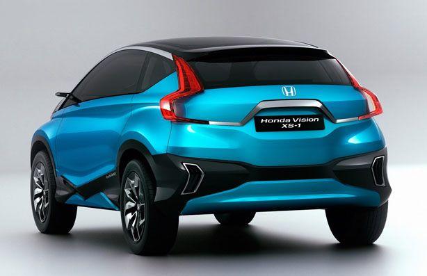 Новый кроссовер Хонда 2014