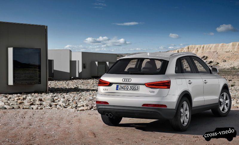 Audi Q3 внешний вид