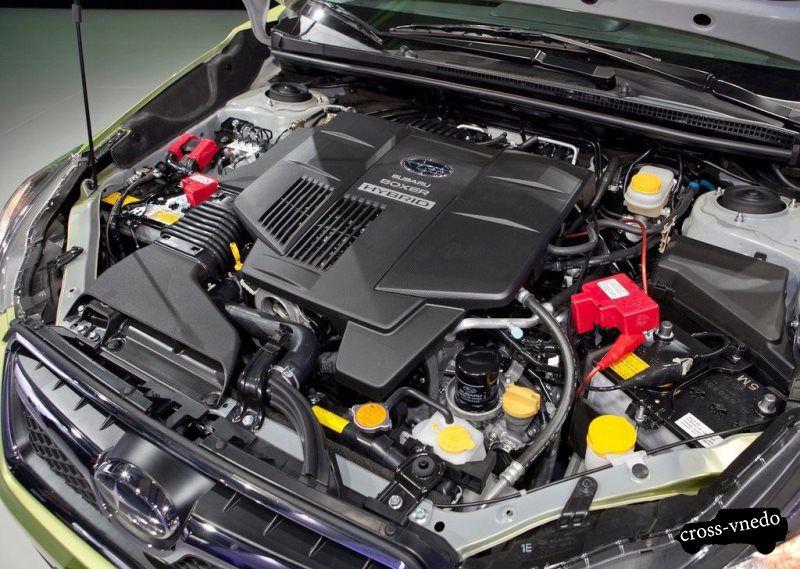 Двигатель Subaru XV