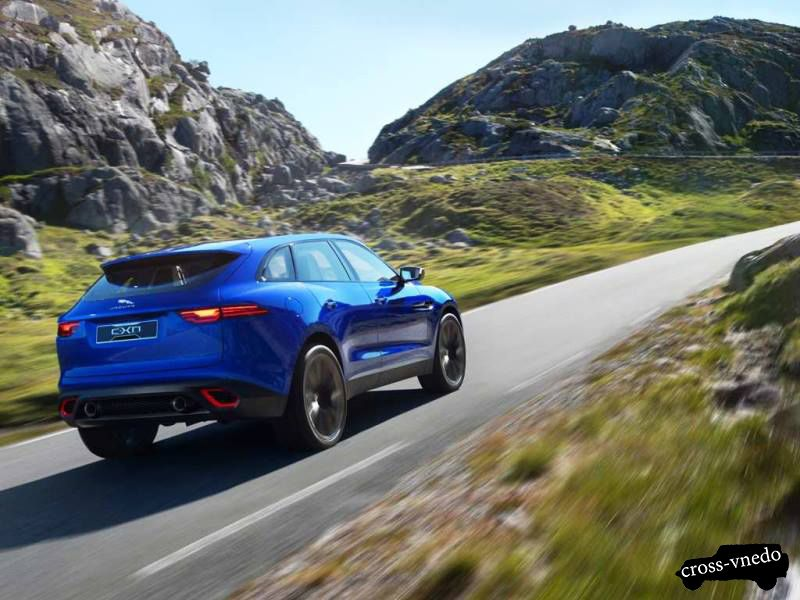 Кроссовер c-x17 Jaguar