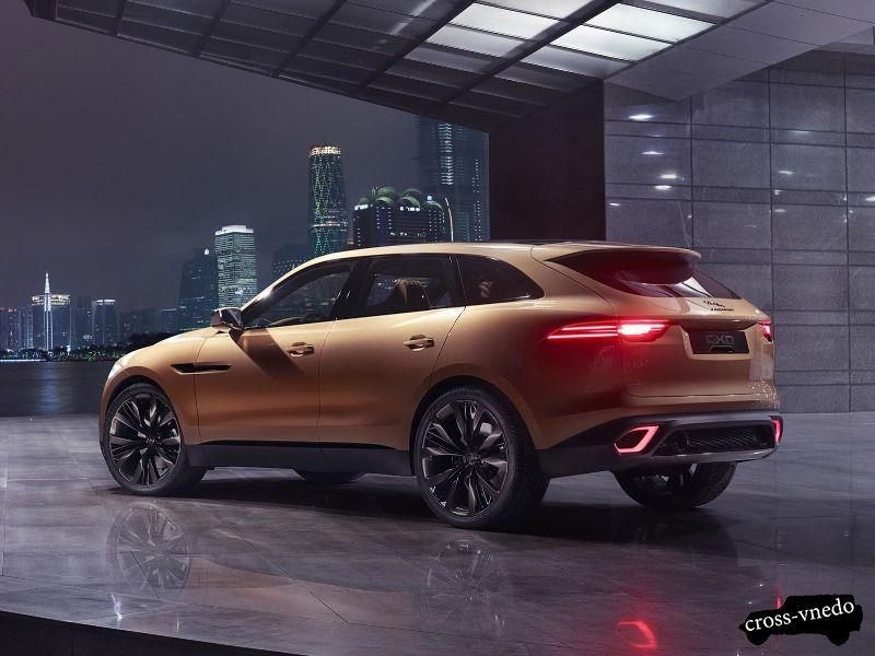Новый Jaguar-c-x17 2014 год фото
