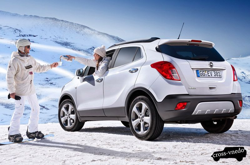 Новый Opel Mokka дизайн
