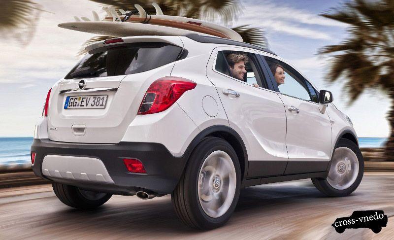 Opel Mokka 2012 год