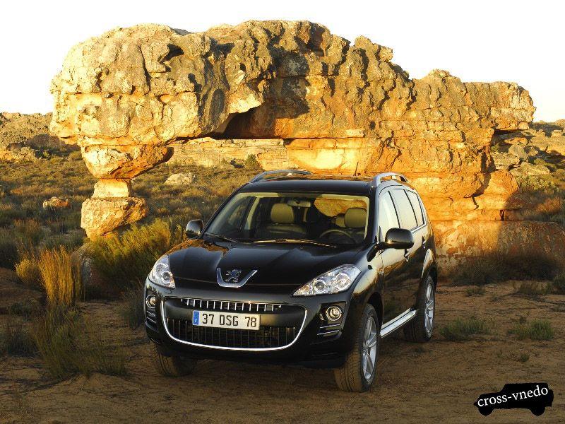 Peugeot 4007 пятидверник фото