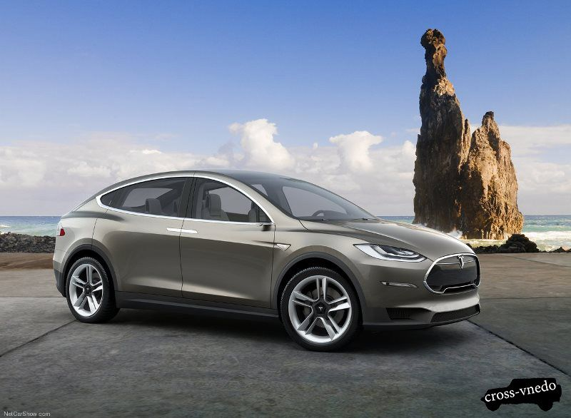Tesla Model X кроссовер