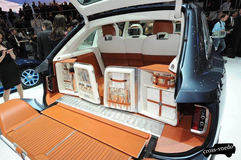 Bentley фото багажника