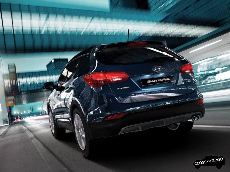 Hyundai Santa Fe внешний облик