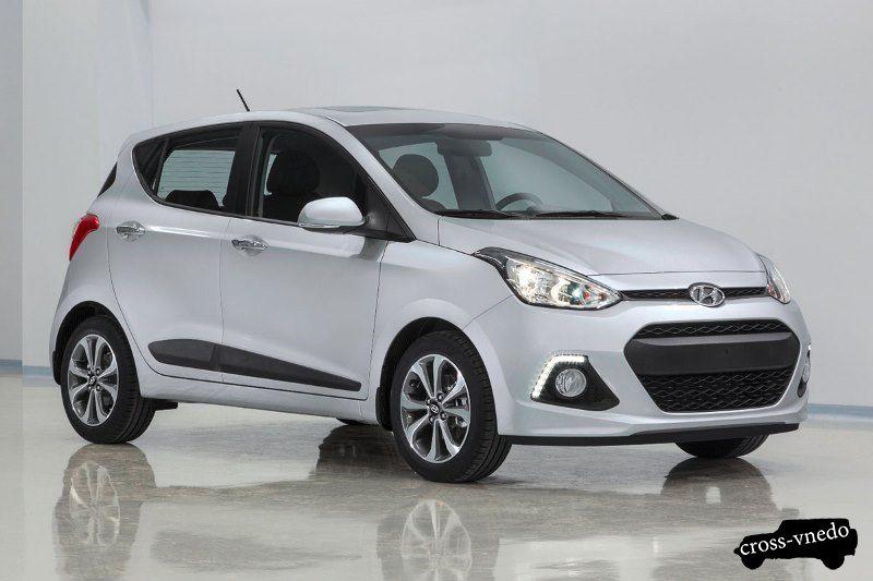 Hyundai i10 New кроссовер фото
