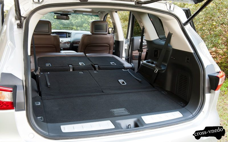 Infinity JX35 багажник