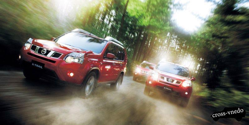 Nissan X-trail кроссовер