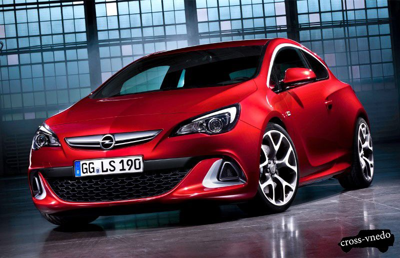 Opel Astra модель