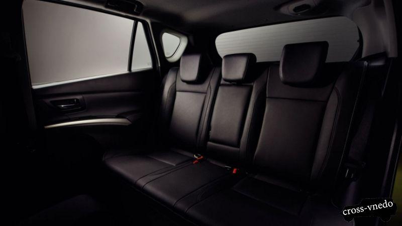 Suzuki SX4 интерьер