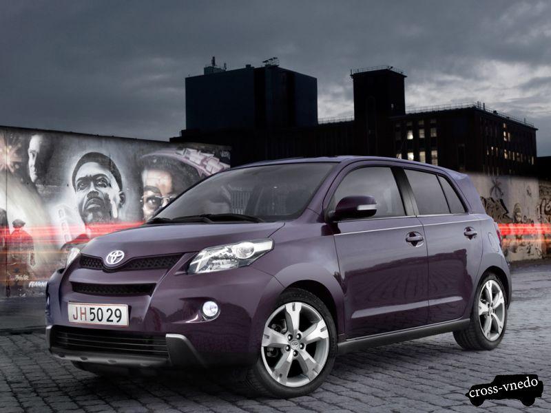 Экономичный внедорожник Toyota Urban Cruiser