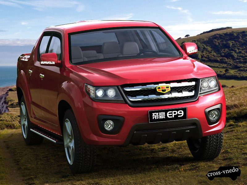 Китайский внедорожник Emgrand EP9
