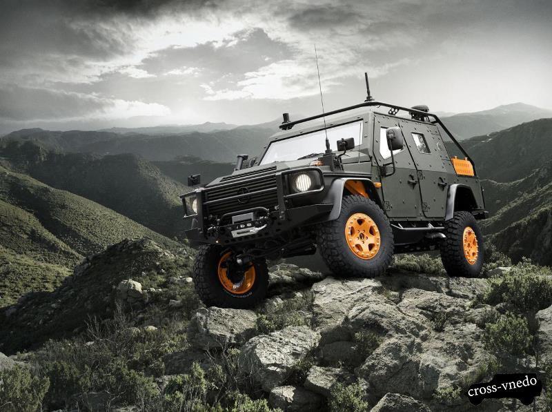 Новый рамный внедорожник Mercedes Benz G Wagon