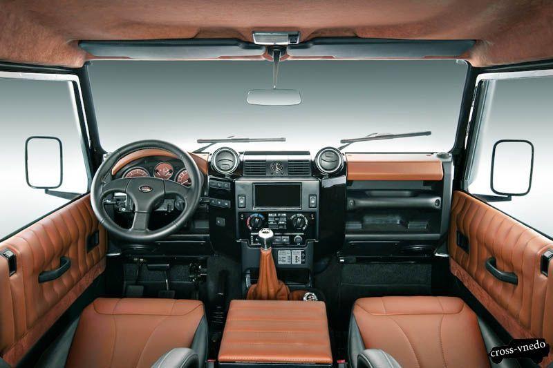 Land Rover Defender салон