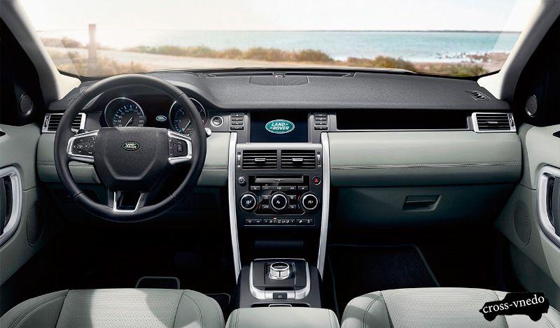 Интерьер Land Rover Discovery Sport 2015