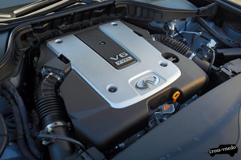Nissan Infinity QX70 двигатель авто