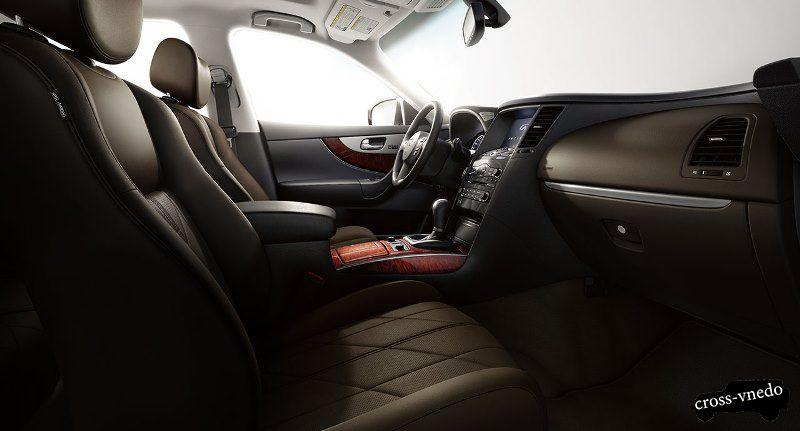 Салон Nissan Infinity QX70 фото