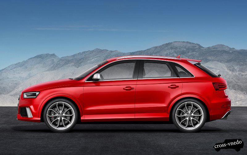 Audi Q3 вид сбоку