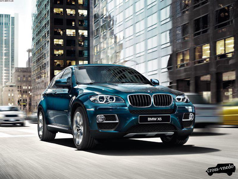 BMW Х6 дизайн
