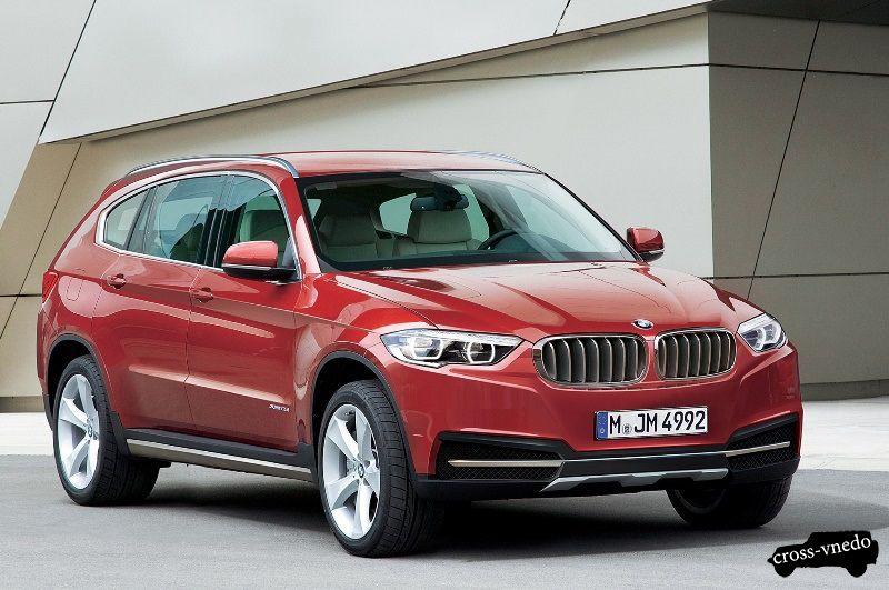 BMW X7 фото модели
