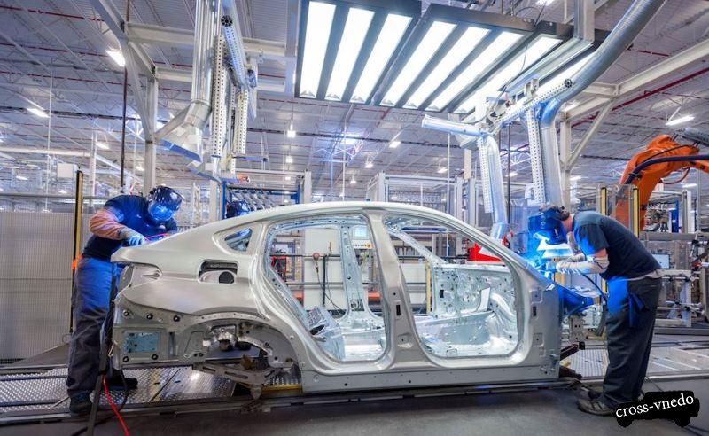 BMW X7 производство