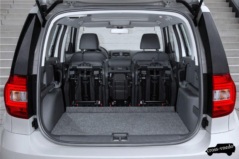 Багажник Skoda Yeti 2014