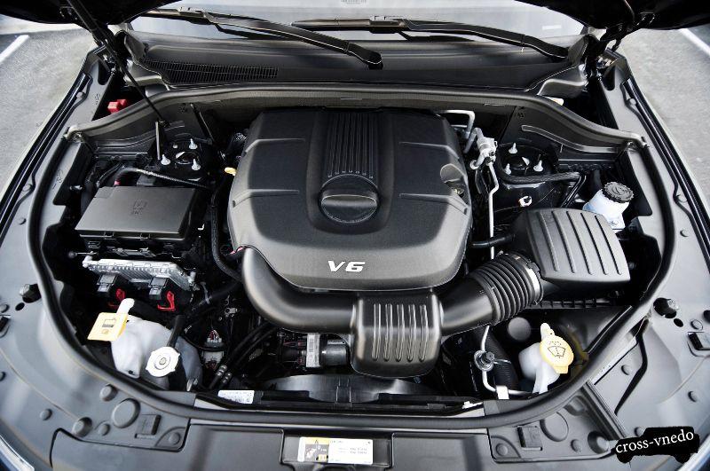 Dodge Durango 2014 двигатель