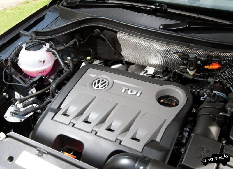 Двигатель Volkswagen Tiguan 2014