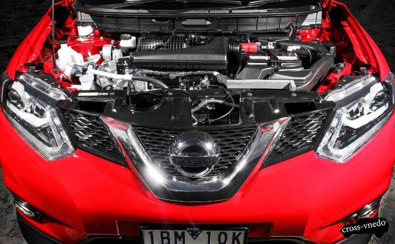 Двигатель нового Nissan X trail 2014 года