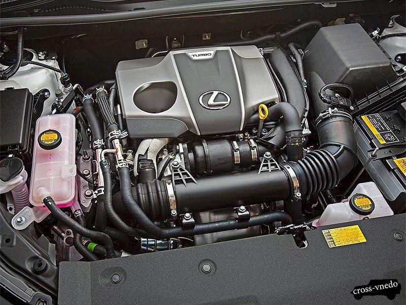 Двигатель внедорожника Lexus NX