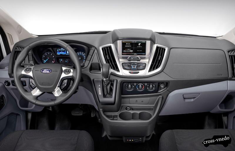 Ford Edge 2014 интерьер