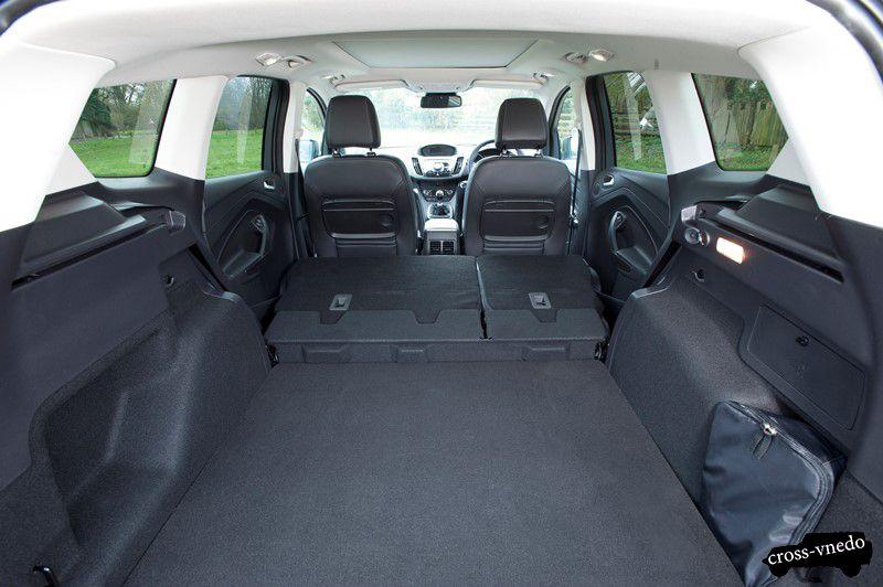 Ford Kuga 2014 фото салона