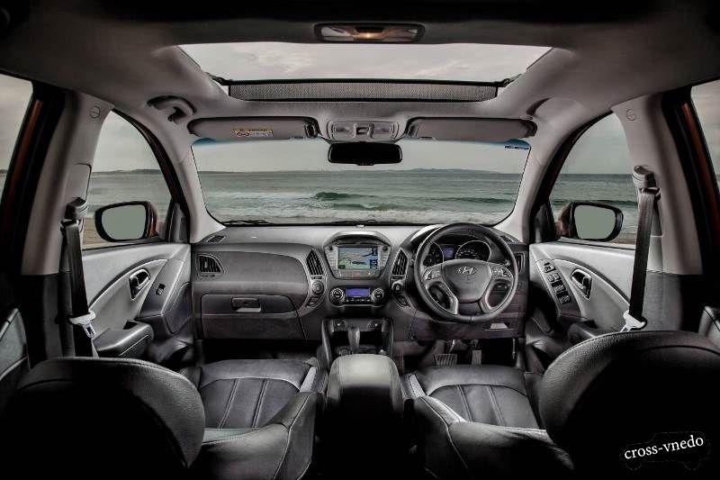 Hyundai ix35 2014 интерьер