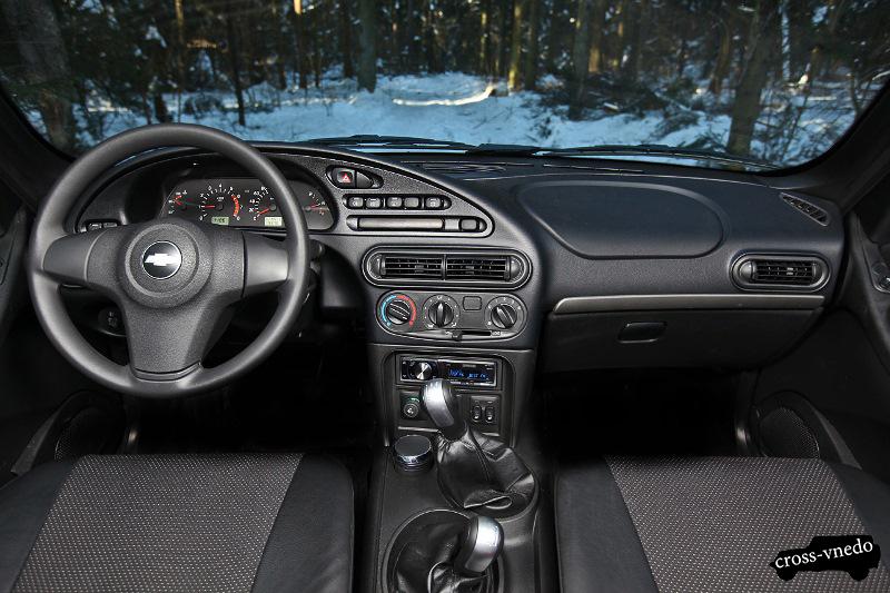 Интерьер Chevrolet Niva фото