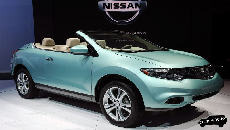 Кабриолет кроссовер Nissan Murano 2014