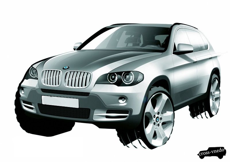 Концепт внедорожника BMW X7