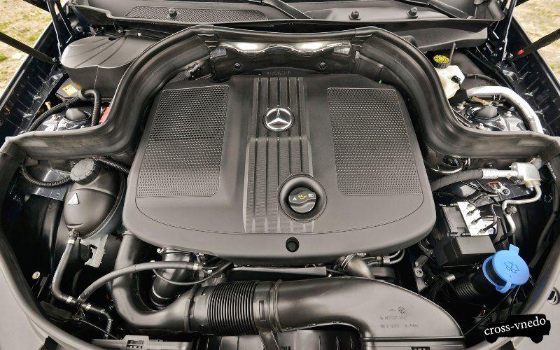 Mercedes GLK двигатель