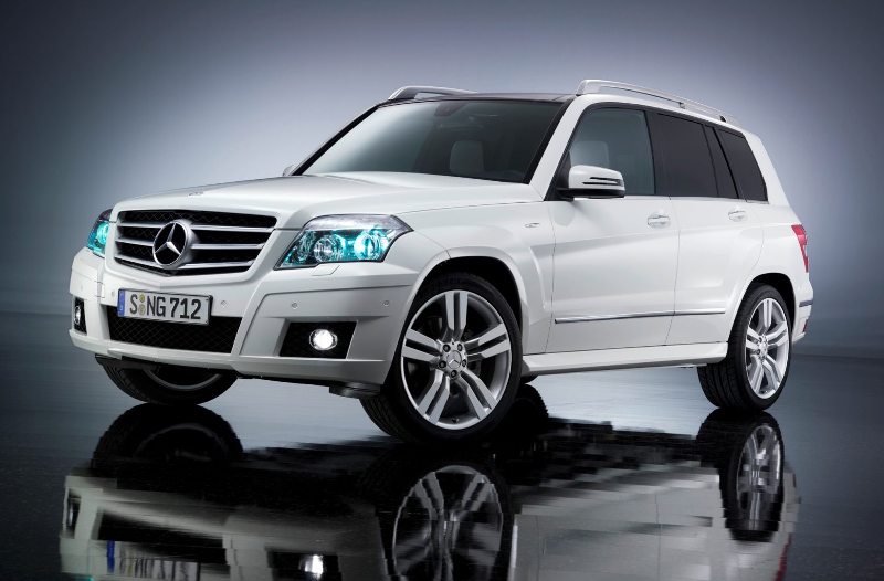 Mercedes GLK экстерьер