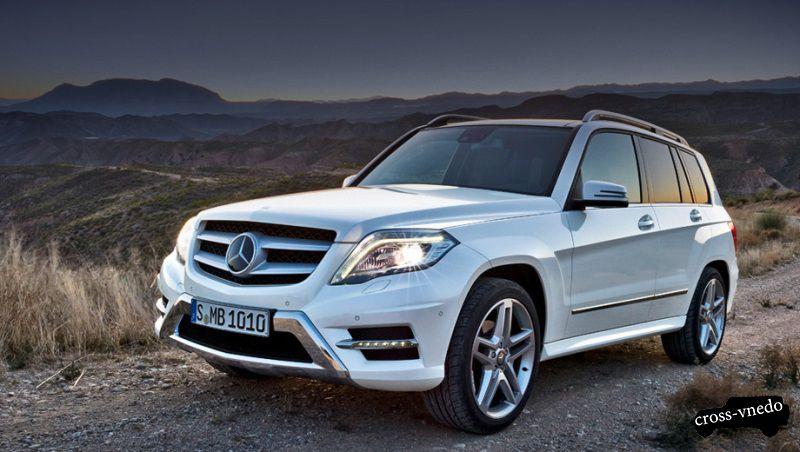 Mercedes GLK фото модели