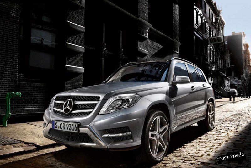 Mercedes GLK тест драйв фото