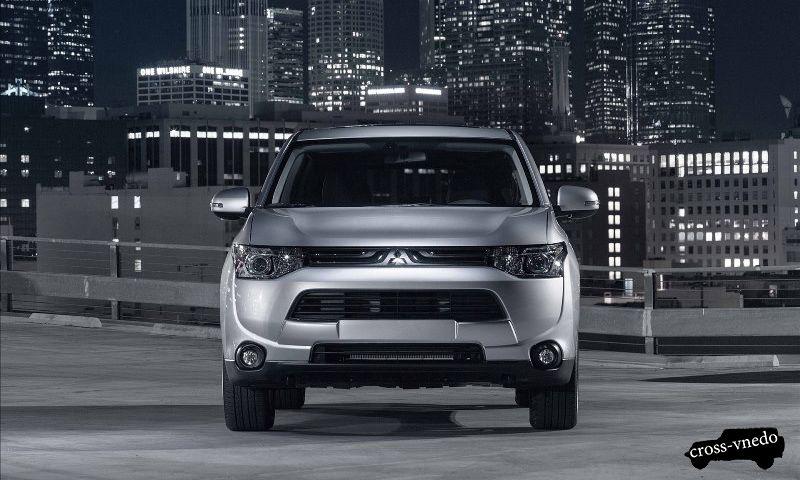 Mitsubishi Outlander 2014 дизайн