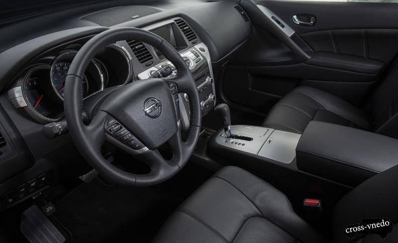 Nissan Murano 2014 интерьер
