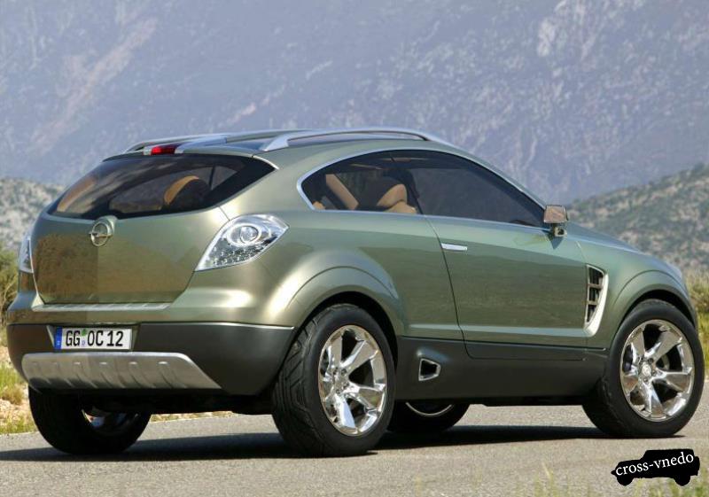 Новинка Opel Antara 2014