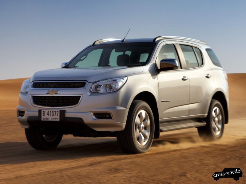 Новый Chevrolet TrailBlazer 2014