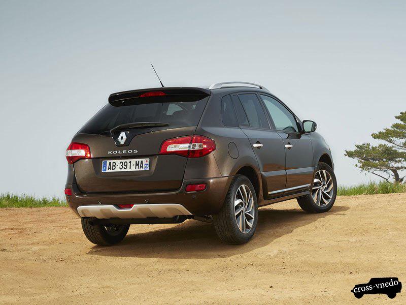 Новый Renault Koleos 2014