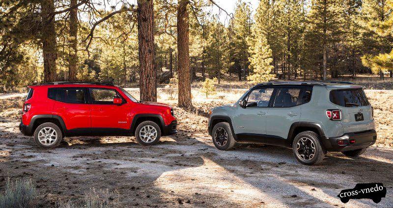 Новый автомобиль Jeep Renegade версии