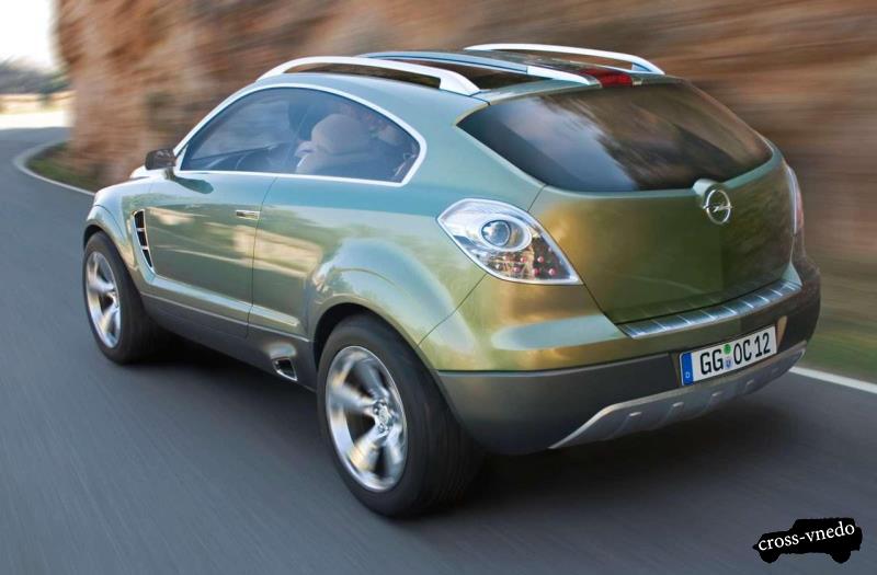 Обновленный Opel Antara 2014
